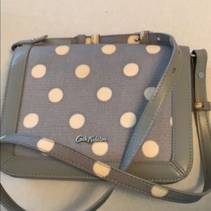 Cath Kidston Purse- Gray Spotted